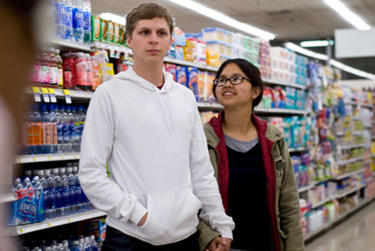 Michael Cera and Charlyne Yi in &quot;Paper Heart.&quot;
